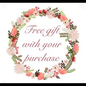 Free gift - Read details for terms